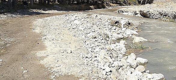 رودخانه روستای دربندی ژور